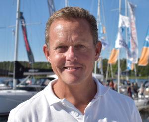Magnus Lundgren - Sales Rep Najad Yachts of Sweden
